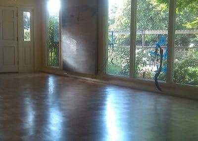 Custom Parquet Flooring Refinishing