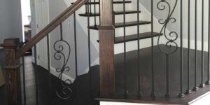 Hardwood Stair Refinishing